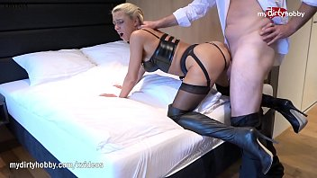 MyDirtyHobby - Cheating wife whoring in a hotel room anally 10 min