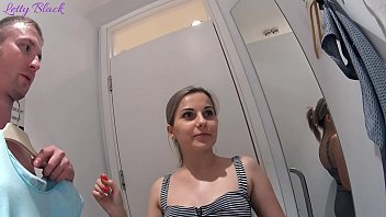 Fitting Room Sex With Clothing Store Consultant Ends Cum Swallow 7 min