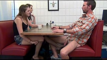 Cialis Porn Tube - Buy Cialis daughter gives Footjob and BJ to not her dad Under the Table Porn Tube 12 min