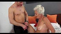 hot grandma  anal sex 6 min