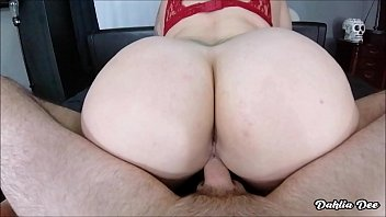 Tattooed PAWG with HUGE ass gets her pussy FILLED with cum!!