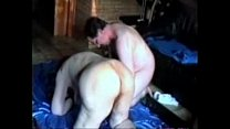 Having fun with ugly stupid granny. Amateur