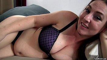 Pregnant Mommy Kristi Fucks Son and Cums on His Cock - Taboo MILF Kristi Fauxcest POV 20 min