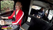 Female Fake Taxi Kayla Green creampied with her big boobs out 11 min
