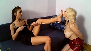 Miss Marcella and Slavegirl Lexi Pain 15 min