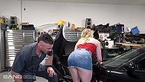 Trickery - Dirty Mechanic Tricks Kenzie Madison Into Sex 11 min