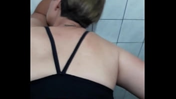 Safada no banheiro do  centro Curitiba