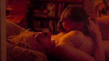 Kate Mara & Ellen Page - Nude Topless Lesbian Movie Sex Scene