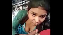 Desi girl sucking lover cock
