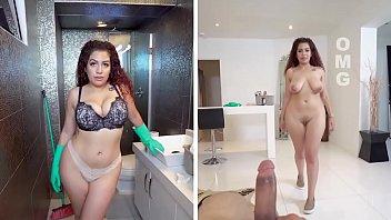 BANGBROS - Curvy Latina Maid Samantha Rose Fucks Her Client