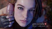 Jill Valentine Handjob Resident Evil 3 Remake