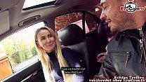 BERLIN NUTTE - Abgeschleppt auf der Straße beim EroCom Date zum Outdoor Sex POV 26 min