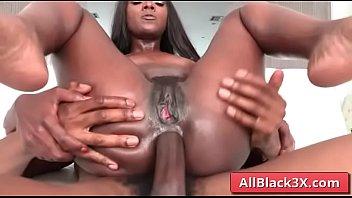 Ebony Ana Foxxx annaly fucked deep by a BBC 6 min
