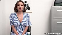Horny cop caught this hot MILF shoplifter named Krissy Lynn and quickly interrogated and gave her a fuck punishment.