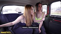 Fake Taxi Cheeky Spanish Lesbians Anastasia & Ginebra in Backseat Threesome 12 min