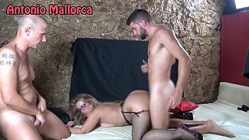 Fucking a Milf in Front of Her Cuckold Husband in a Swinger Club 13 min