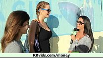 Public nudity and hot sex for money 2