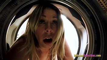 Fucking My Busty Step Mom While She is Stuck in the Washing Machine - Nikki Brooks 11 min