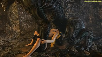 Samus Aran on a strange Alien Planet Saga Full Video 3D Porn