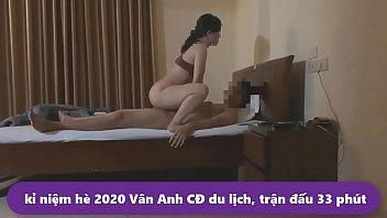 em Vân Anh cđ du lịch hè 2020