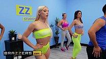 Gorgeous Babes (Abella Danger, Katana Kombat) dancing fucking - Brazzers 10 min