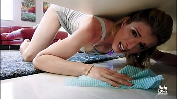 Hot Stepmother Fucked in The ass While Stuck Under Bed - Cory Chase 12 min
