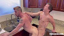Cooking And Cocking- Dad And Son