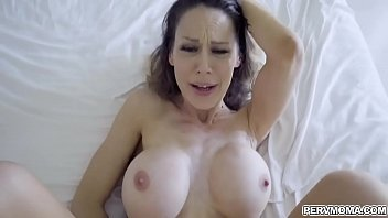 Stepson gets a chance to fuck his hot horny stepmom