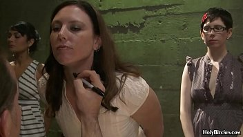 Milfs with nice boobs in naked police lineup 6 min