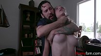 Slutty Teen Daughter Punished By Daddy- Lily Glee