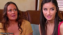 MommysGirl Emily Willis Learns How To Squirt In A Lesbian Threesome With Her Two Stepmoms 11 min