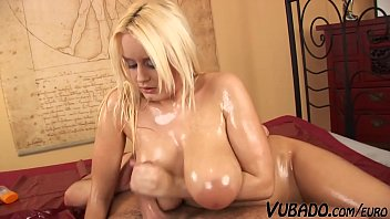 Blonde Step Sis With Huge Natural Tits