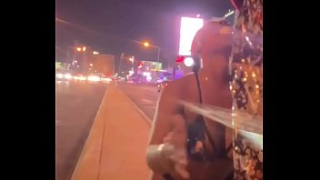 Pissed on her on the Vegas strip
