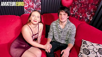 AMATEUR EURO - #Lilly Ladina - Shy Guy Tries His Luck With A Skilled Hot German MILF 14 min