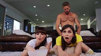 Hot Threesome With Gorgeous Trannies (Natalie Mars, Korra Del Rio) - Transangels