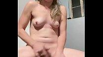 Quick solo orgasm 89 sec
