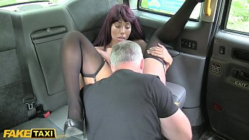 Fake Taxi Pretty Ebony Teen from London big ass and tight pussy gets creampie