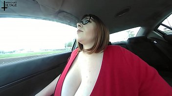 Unaware Giantess Tiny Passenger Caught