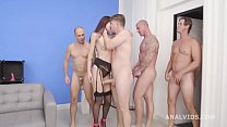 Tabitha Poison 6on1 Balls Deep Anal, DAP, Gapes and Swallow GIO1581
