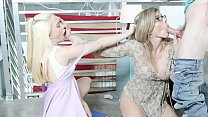 Jealous Busty Step Mom Shows Her Step Son's GF How To Do It (Cory Chase, Jane Wilde) 8 min