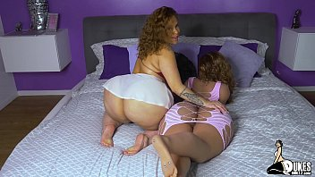 Big Booty THICK Latna Scarlett Dance on Her love doll