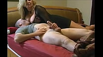 Hot breasted mom seduce a young guy very hot 9 min