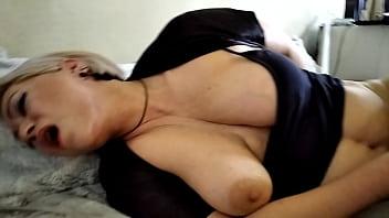 Sweet Milf Hot Orgasm: Fuck, Lovens & Nipple Torment... Not a Woman, but a Goddess!