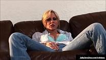 The Luckiest Glass Dildo Ever Takes A Tour Inside Hot Mom Julia Ann!