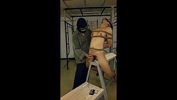 Submissive young asian gay slave