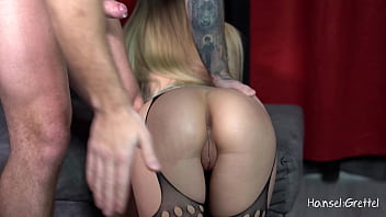 Sloppy Deepthroat & Facefuck Sexy Big Boobs Blonde