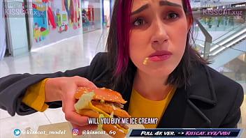 Risky Blowjob in Fitting Room for Big Mac - Public Agent PickUp & Fuck Student in Mall / Kiss Cat 12 min