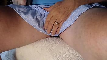 Fun under a skirt