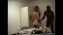 A Very Nasty Interracial Fucking Action In The Breakroom