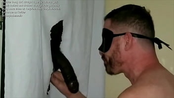 Huge BBC tall athlete gets sucked and swallowed at my private gloryhole